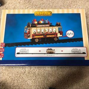 North Pole Train Christmas Village Piece